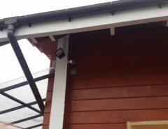 Система видеонаблюдения для частного дома (фото 1)