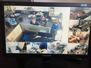 Видеонаблюдение для офиса (фото 5)