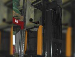 Видеонаблюдение на складе (фото 5)