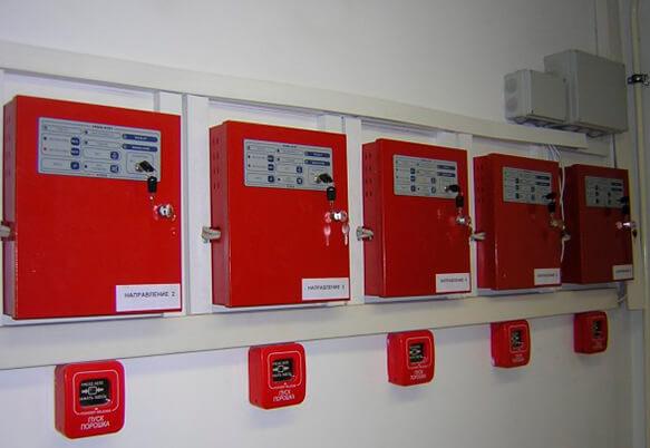 Адресная пожарная сигнализация