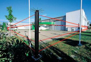 Монтаж периметровой сигнализации (фото 2)