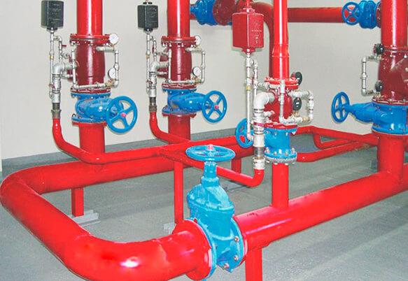 Проектирование водяного пожаротушения