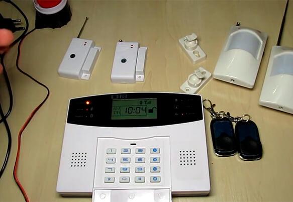 Установка GSM сигнализации на даче
