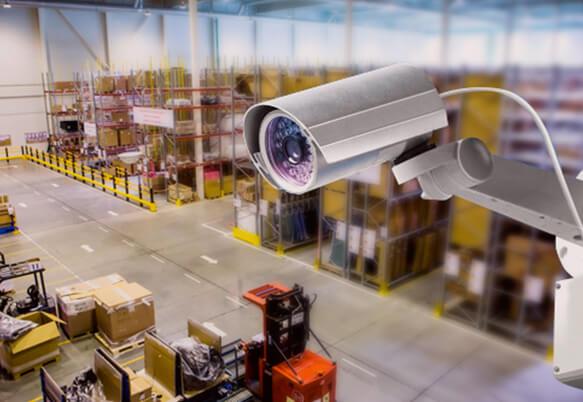 Видеонаблюдение на складе