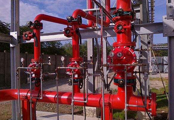 Техническое обслуживание спринклерной системы пожаротушения