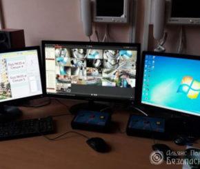 Вывод на монитор системы видеонаблюдения (фото 4)