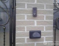 Фото монтажа кодовой клавиатуры электромеханических замков (фото 3)