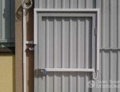 Установка накладных электромеханических замков на различные калитки (фото 2)