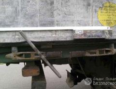 Установка ригельных замков контроля доступа на грузовики (фото 1)