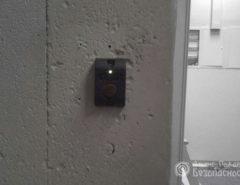 Монтаж систем контроля доступа - считыватель
