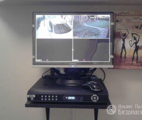 Вывод на монитор системы видеонаблюдения (фото 2)