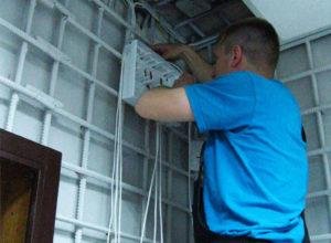 Установка пожарной сигнализации в офисе (фото 2)