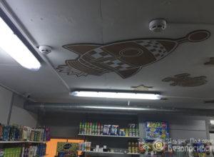 Пожарная сигнализация в магазине (фото 3)
