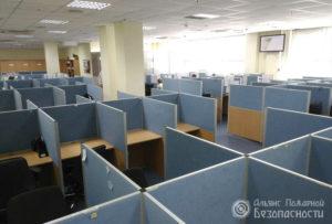 Видеонаблюдение в офисных помещениях (фото 4)