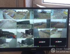 Внешнее видеонаблюдение на предприятие (фото 6)