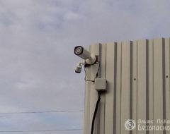 Внешнее видеонаблюдение на предприятие (фото 4)