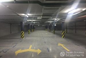 Видеонаблюдение на паркинге (фото 4)