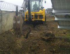 Установка видеонаблюдения на ферме (фото 7)