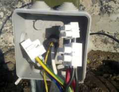 Установка видеонаблюдения на ферме (фото 5)