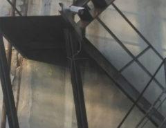 Видеонаблюдение на пожарной лестнице (фото 1)