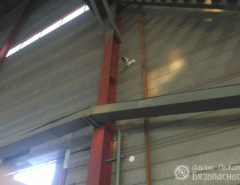 Видеонаблюдение на складе (фото 1)