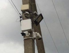 Видеонаблюдение на улице (фото 1)