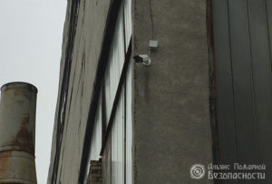 Видеонаблюдение на территории завода камера 2 мегапикселя (фото 2)