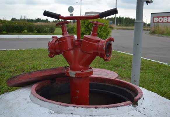 Монтаж пожарных гидрантов