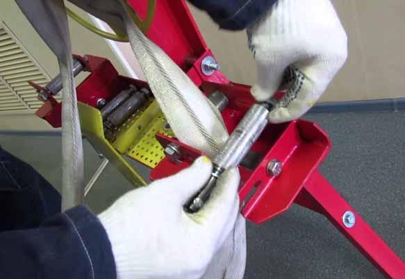 Перекатка пожарных рукавов
