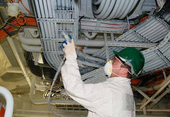 Проверка огнезащитной обработки кабеля