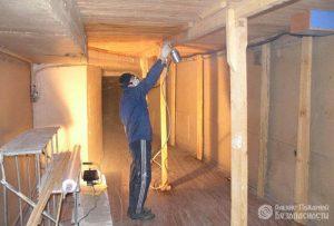 Огнезащитная обработка деревянных конструкций (фото 2)
