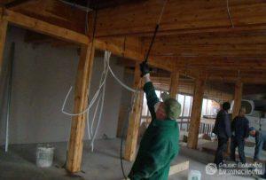 Огнезащитная обработка деревянных конструкций (фото 1)