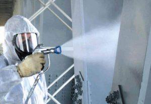 Огнезащита строительных конструкций (фото 1)