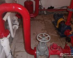 Пожарный водопровод (фото 1)
