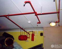 Пожаротушение тонкораспыленной водой (фото 1)