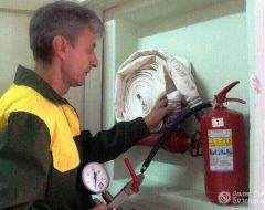 Обслуживание пожарного водопровода