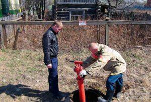 Испытания пожарных гидрантов