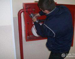 Испытание пожарных рукавов (фото 1)