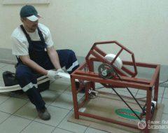 Перекатка пожарных рукавов (фото 1)