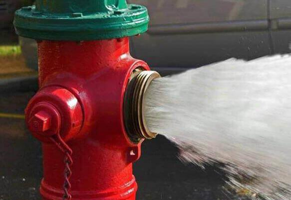 Испытания пожарных гидрантов (фото 2)