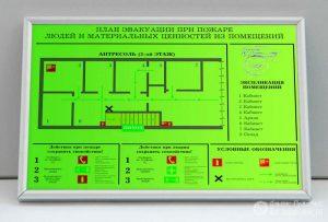 Фотолюминесцентные планы эвакуации (фото 3)