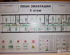 Изготовление планов эвакуации