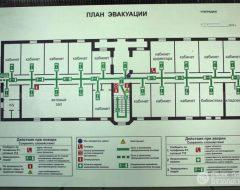Изготовление планов эвакуации (фото 2)
