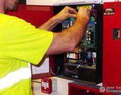 Наладка пожарной сигнализации