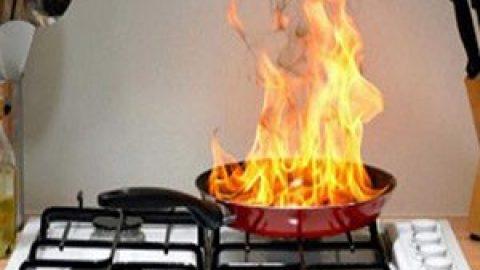 Пожарная безопасность на кухне