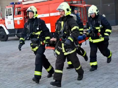 Распорядок дня пожарных