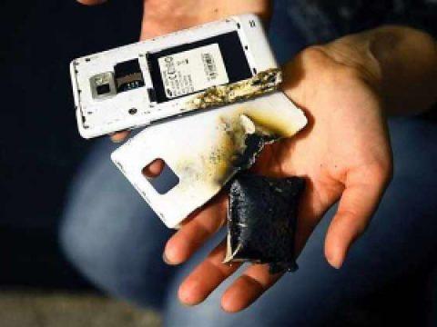 Почему горят смартфоны и что делать